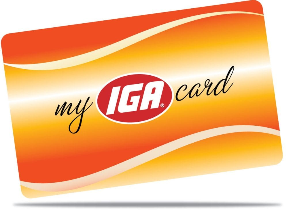 My Iga Card